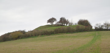 Castle Hill from Castle Hill Lane